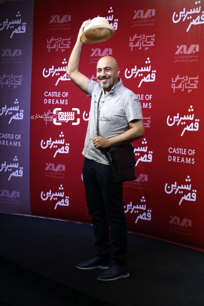 عکس رضا عطاران در اکران خصوصی فیلم «قصر شیرین»