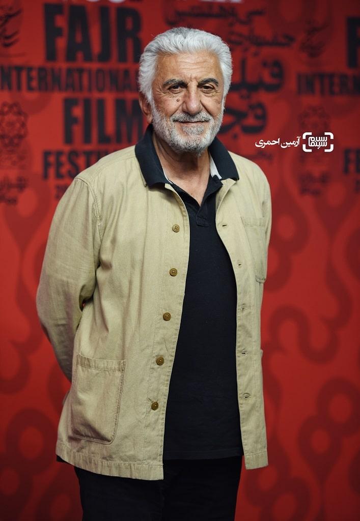 حضور رضا کیانیان در سی و هشتمین جشنواره جهانی فیلم فجر در پردیس سینمایی چارسو