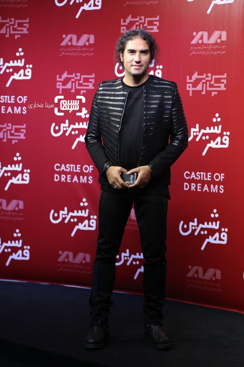 عکس رضا یزدانیومحمد رحمانیان در اکران خصوصی فیلم «قصر شیرین»