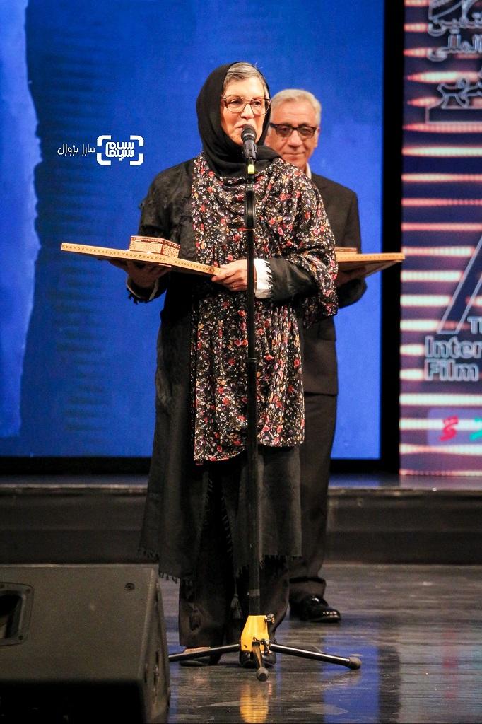 رویا تیموریان اختتامیه هفتمین جشنواره فیلم شهر