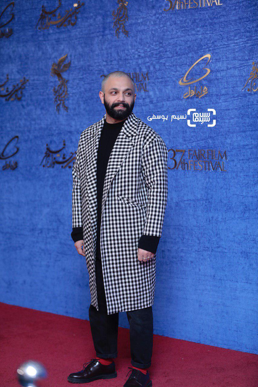 صابر ابر گزارش تصویری اکران و نشست «مسخره باز»/جشنواره فجر 37