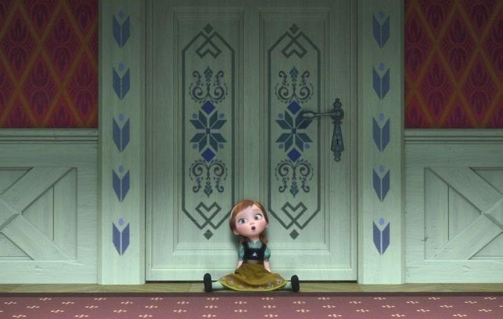 غمگین ترین صحنه های ماندگار انیمیشن های تاریخ سینما - یخ زده (Frozen)