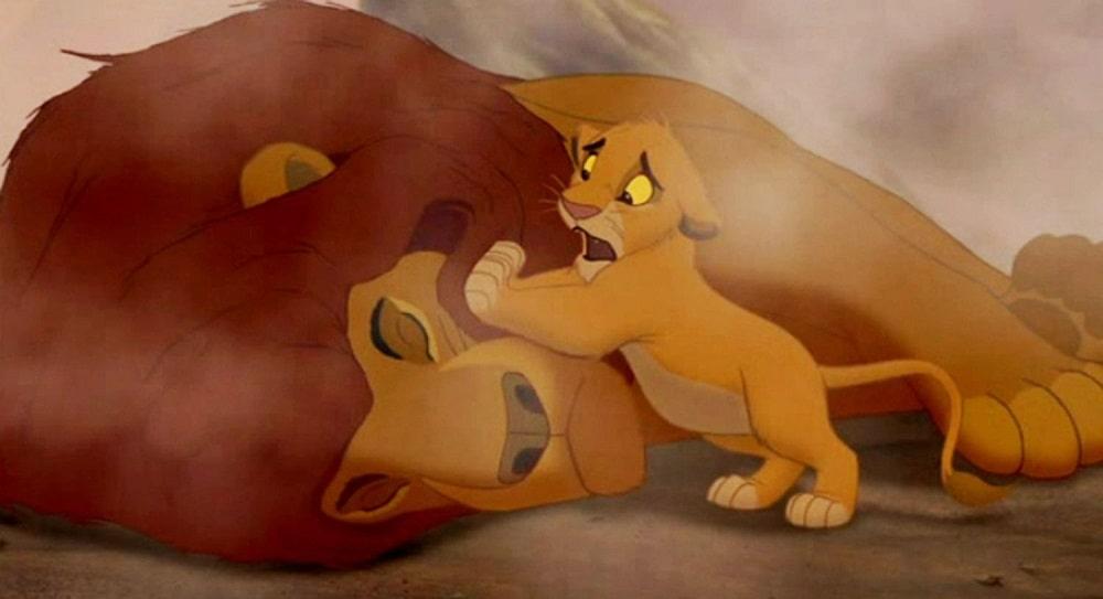 غمگین ترین صحنه های ماندگار انیمیشن های تاریخ سینما - شیرشاه (The Lion King)