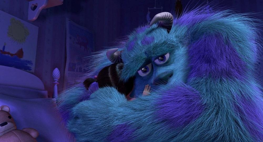 غمگین ترین صحنه های ماندگار انیمیشن های تاریخ سینما - کارخانه هیولاها (monsters inc)