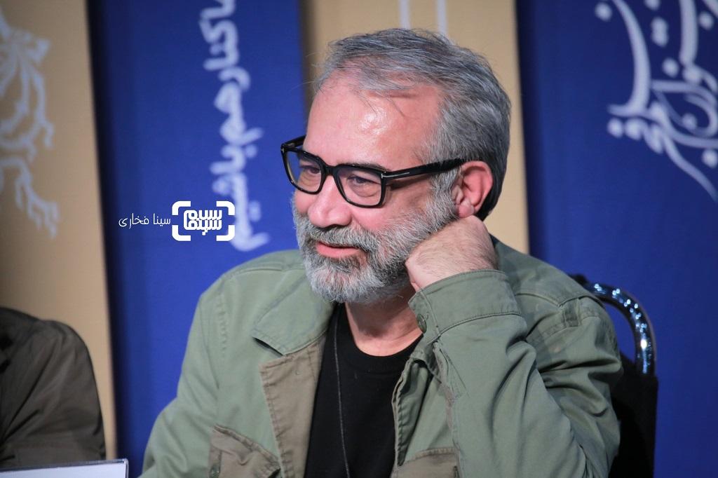 سعید آرمند - گزارش تصویری - نشست خبری فیلم «دشمنان» - جشنواره فیلم فجر 38