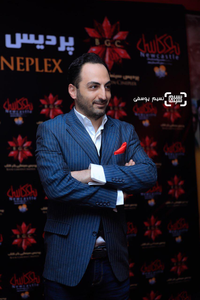 عکس سعید فتحی روشن در اکران خصوصی فیلم «نیوکاسل»