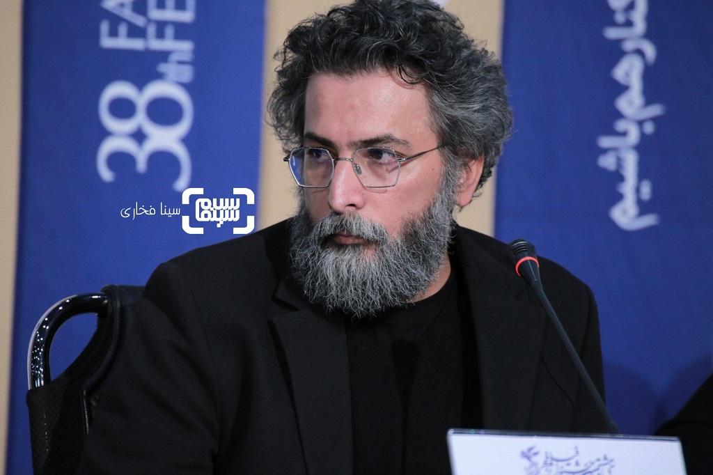 سعید ملکان - نشست خبری «روز صفر» در فجر 38