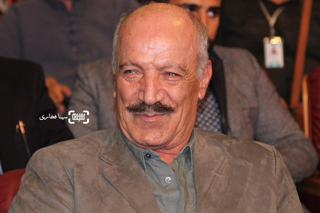 سعید راد در اختتامیه جشنواره فیلم مقاومت