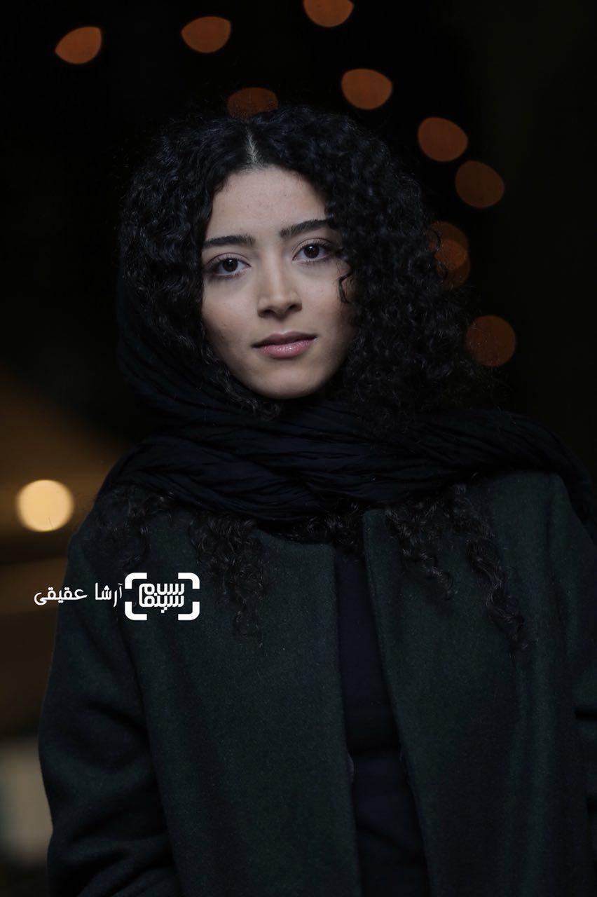 ساغر قناعتدر اکران فیلم «جشن دلتنگی» در سی و ششمین جشنواره فیلم فجر