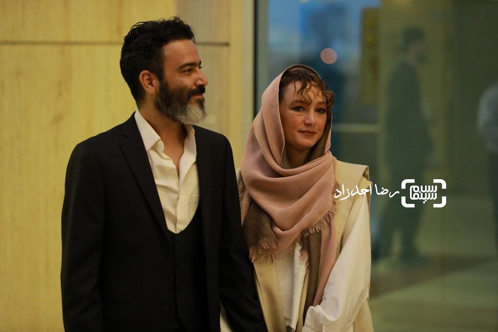 سحر ولدبیگی و همسرش نیما فلاح/ بیست و یکمین جشن خانه سینما/ گزارش تصویری 2