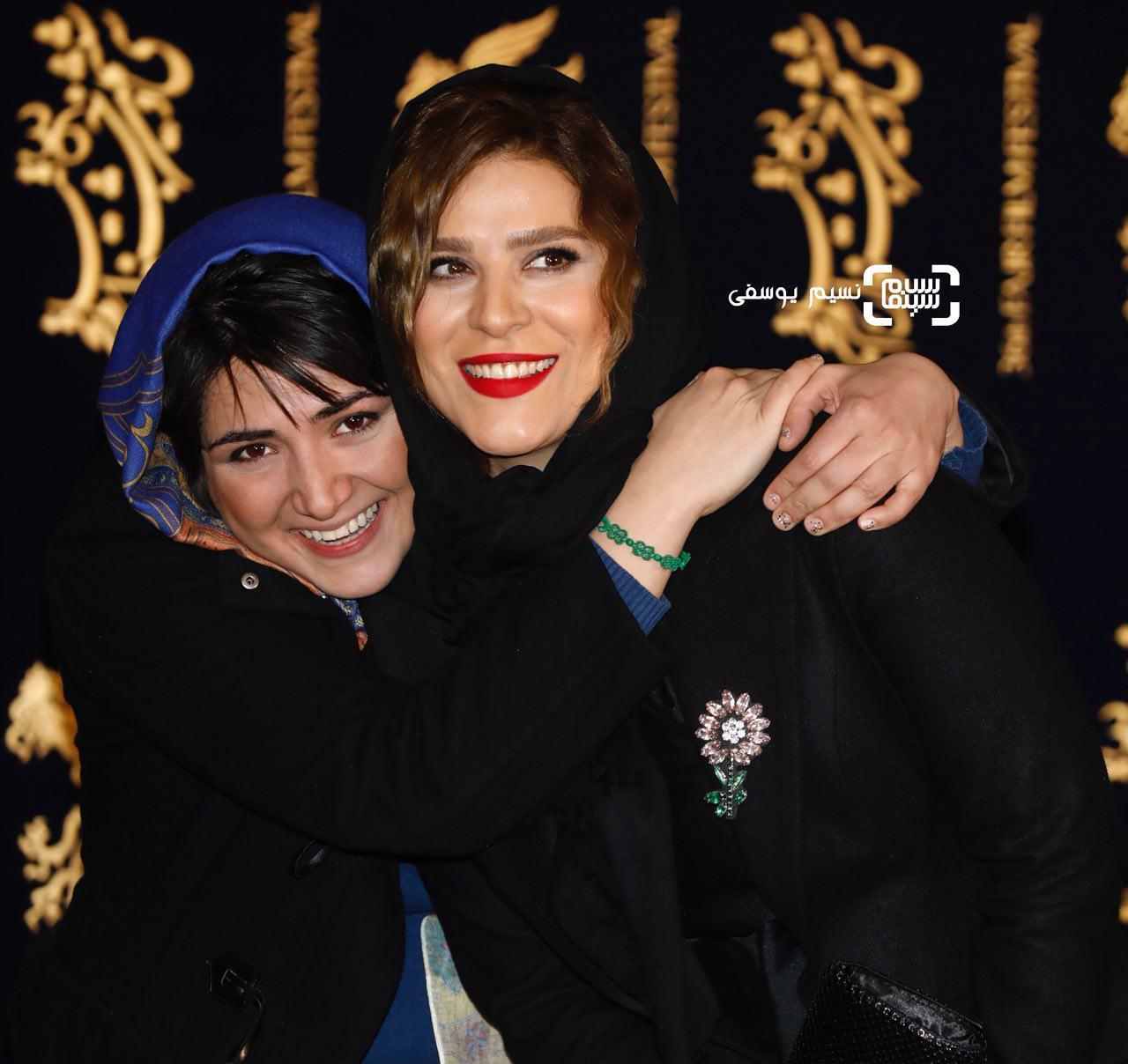 15 عکس برتر جشنواره فیلم فجر از قاب نسیم یوسفی/ باران کوثری و سحر دولتشاهی