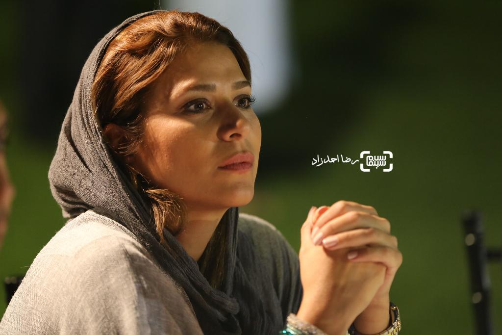 سحر دولتشاهی در اکران فیلم «آی آدم ها»