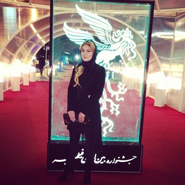 سحر قریشی در سی و دومین جشنواره فیلم فجر