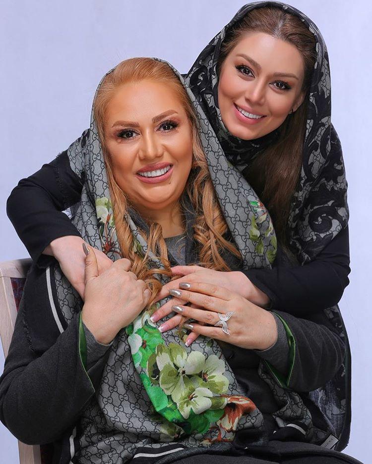 saharghoreyshiandmom1 عکسهای اینستاگرام هنرمندان در روز مادر و زن