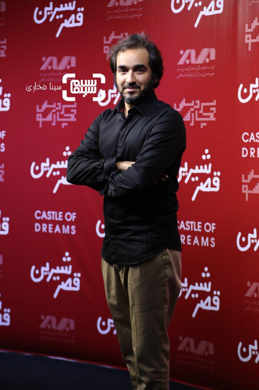 عکس سجاد افشاریان در اکران خصوصی فیلم «قصر شیرین»