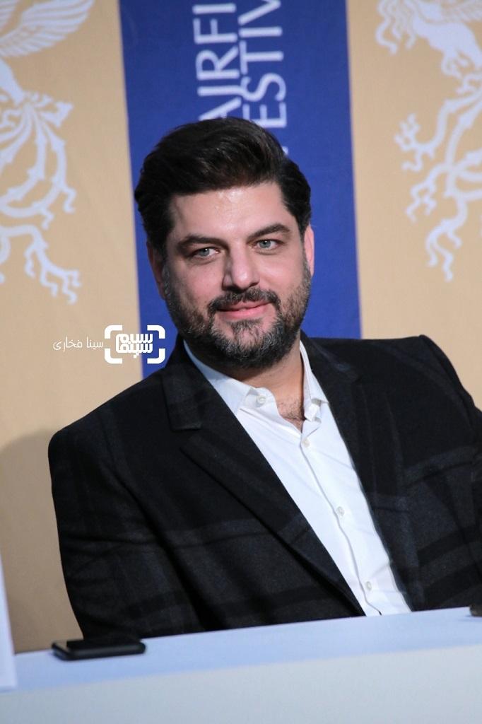 سام درخشانی - گزارش تصویری - نشست خبری «خوب بد جلف 2 ارتش سری» - جشنواره فجر 38