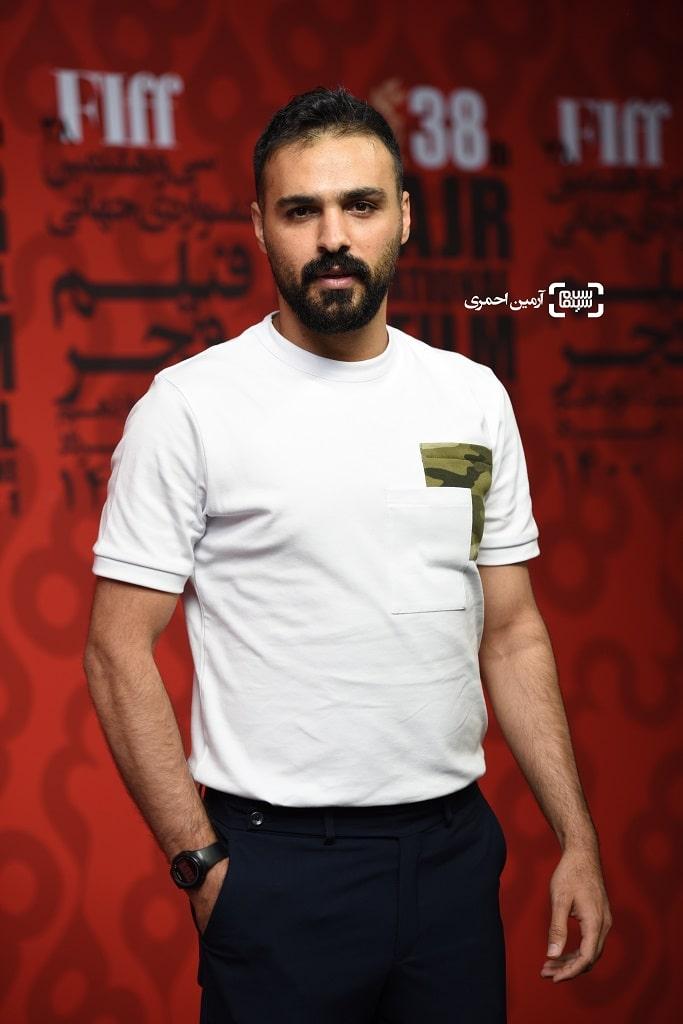 سامان صفاری - اکران شهربانو - سی و هشتمین جشنواره جهانی فیلم فجر