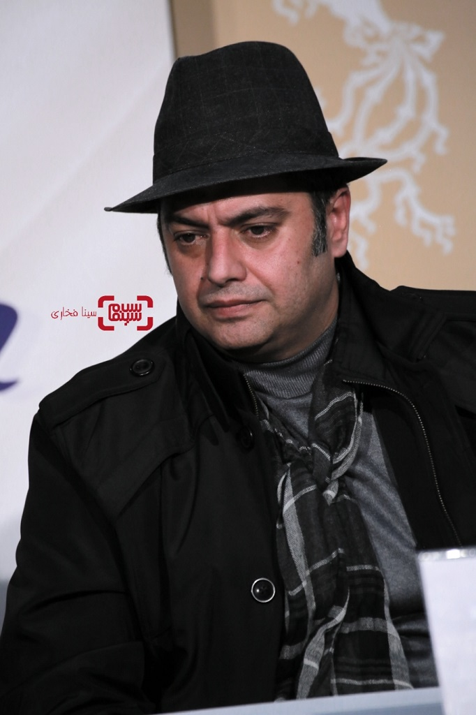 سامان سالور - نشست خبری فیلم «سه کام حبس» در فجر 38