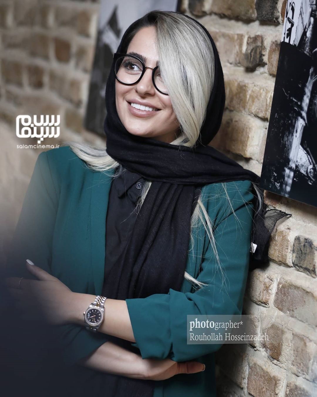 سمانه پاکدل - افتتاحیه نمایشگاه عکس برزخ