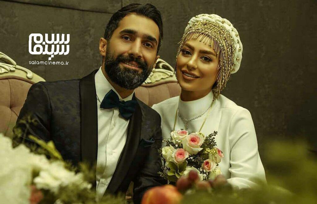 ازدواج دو بازیگر/ هادی کاظمی و سمانه پاکدل/ تصاویر