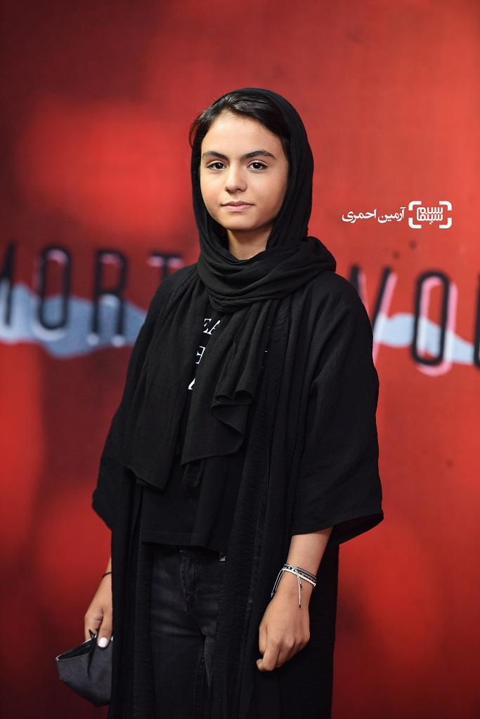 اکران خصوصی سریال نمایش خانگی زخم کاری - سارا حانمی - پردیس سینمایی چارسو