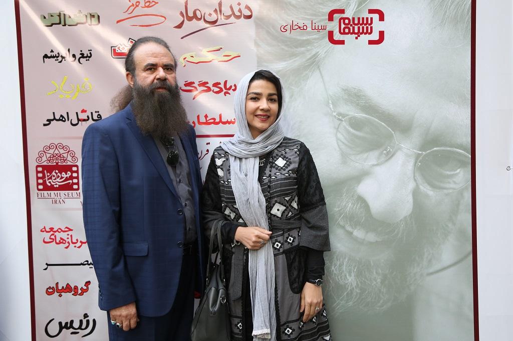 جشن تولد 78 سالگی مسعود کیمیایی/ گزارش تصویری سارا صوفیانی و همسرش