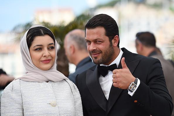 ساره بیات و پژمان بازغی در فتوکال فیلم «ناهید» در شصت و هشتمین جشنواره فیلم کن