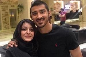 ساره بیات در توضیح بغل کردن شوهرخواهرش رضا قوچاننژاد: با رضا احساس محرمیت می کنم