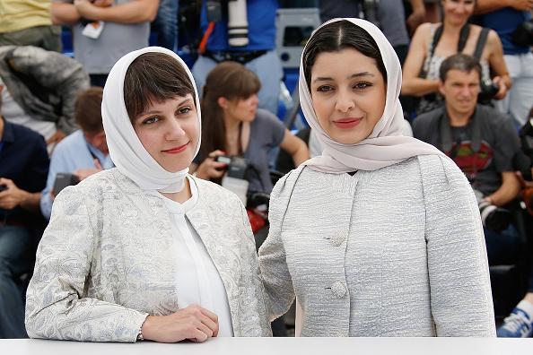 ساره بیات و آیدا پناهنده در فتوکال فیلم «ناهید» در شصت و هشتمین جشنواره فیلم کن