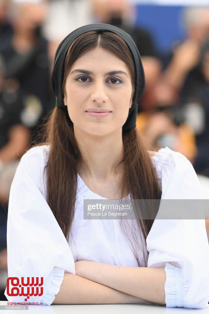 سارینا فرهادی در فتوکال قهرمنا در کن 2021