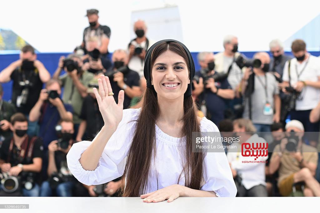 سارینا فرهادی - کن 2021 - فتوکال - نشست خبری