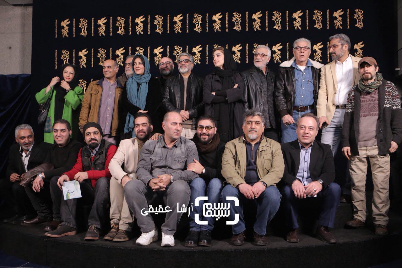 گزارش تصویری اکران و نشست فیلم «سرو زیر آب» در جشنواره فیلم فجر36