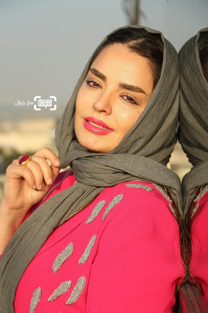 عکس سپیده خداوردی در روز دوم سی و هفتمین جشنواره جهانی فیلم فجر