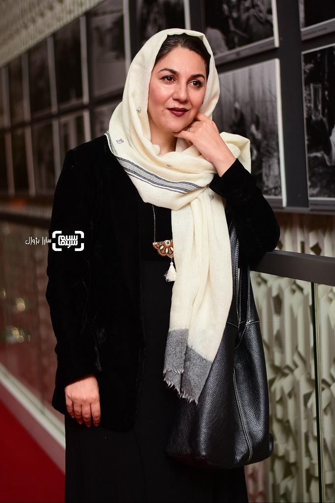 عکس ستاره اسکندری در روز دوم سی و هفتمین جشنواره جهانی فیلم فجر