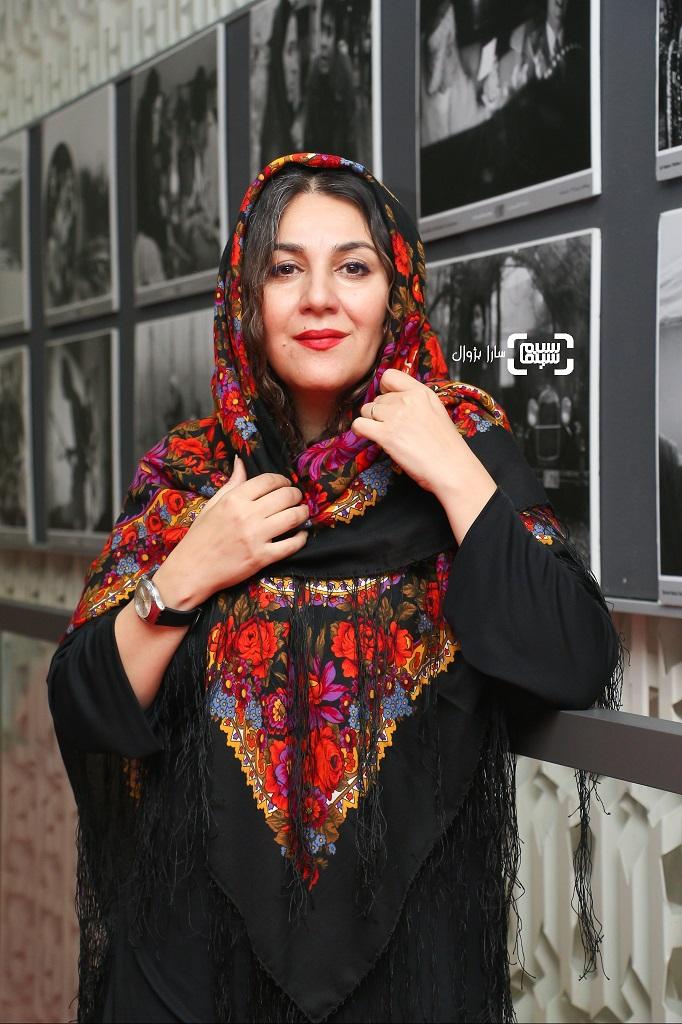عکس ستاره اسکندری در روز پنجم سی و هفتمین جشنواره جهانی فیلم فجر