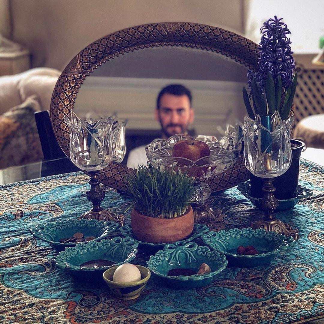 نیما شعبان نزاد تبریک نوروز ۹۹