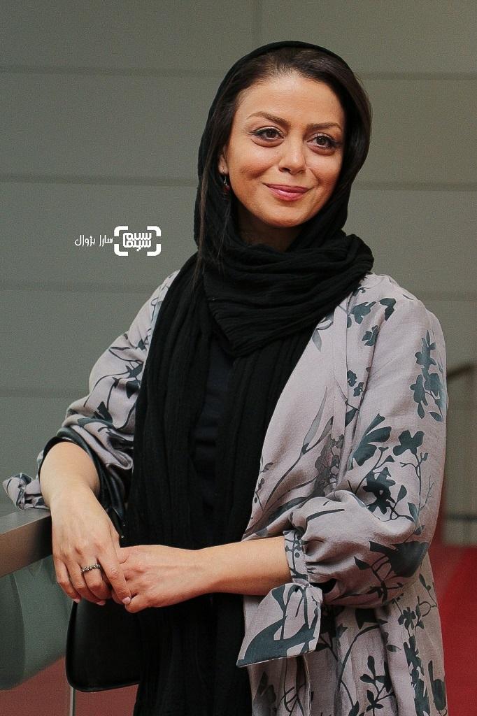 شبنم فرشادجو در روز هفتم سی و هفتمین جشنواره جهانی فیلم فجر