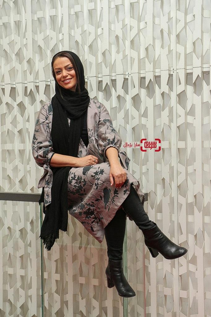 عکس شبنم فرشادجو در روز هفتم سی و هفتمین جشنواره جهانی فیلم فجر