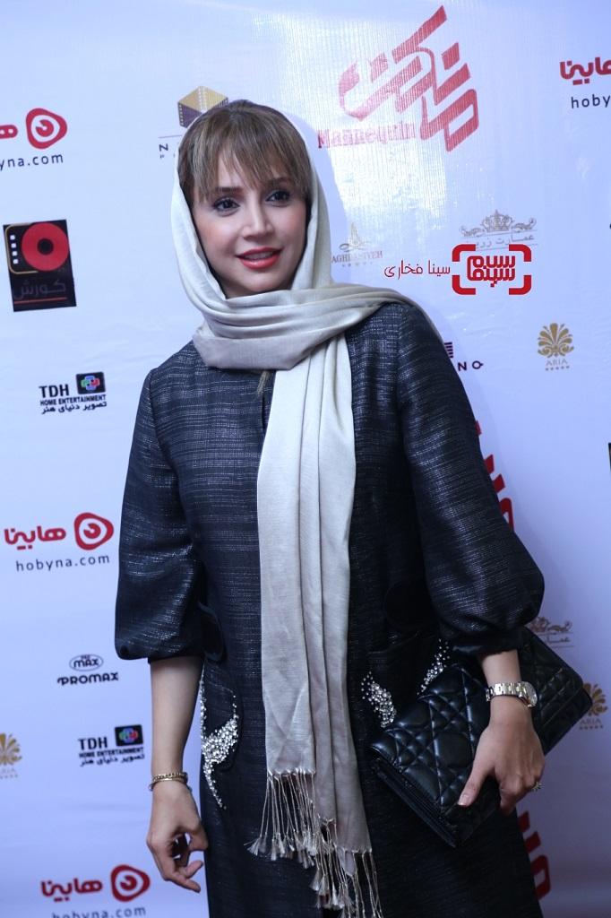 عکس شبنم قلی خانی اکران خصوصی سریال نمایش خانگی «مانکن»/ گزاش تصویری