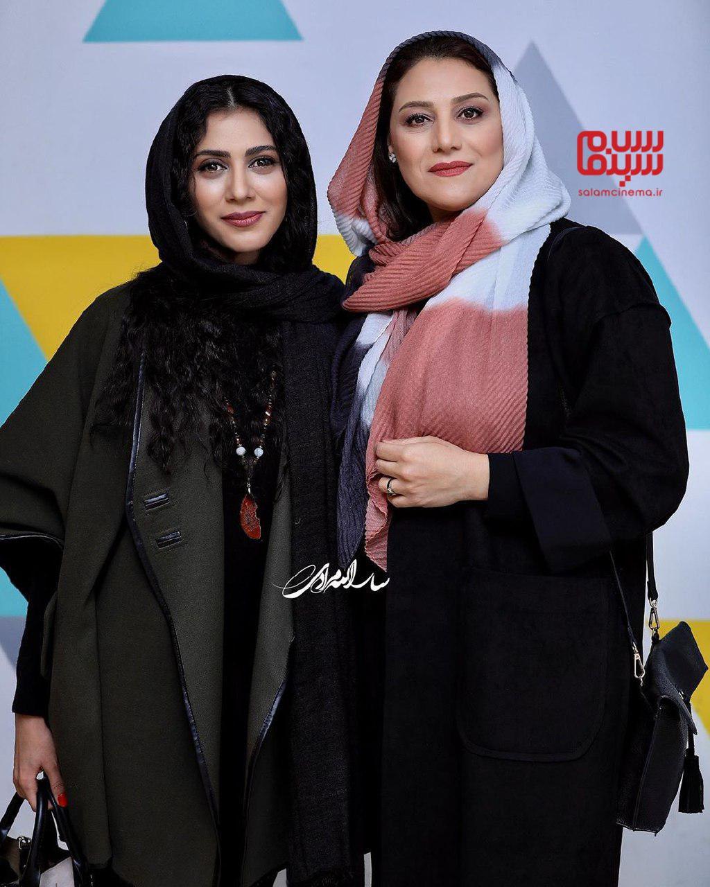 گلاره عباسی - شبنم مقدمی- اکران خصوصی فیلم «خداحافظ دختر شیرازی»-گزارش تصویری
