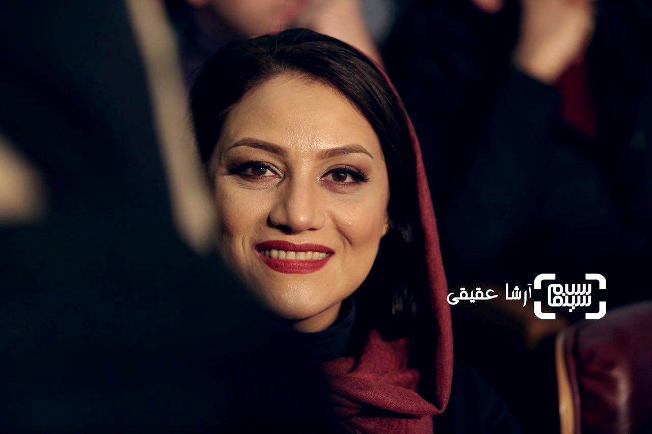 شبنم مقدمی در اختتامیه سی و ششمین جشنواره فیلم فجر