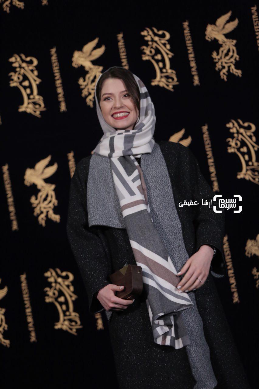 شادی کرمرودی در اکران فیلم «دارکوب» در کاخ رسانه جشنواره فیلم فجر36