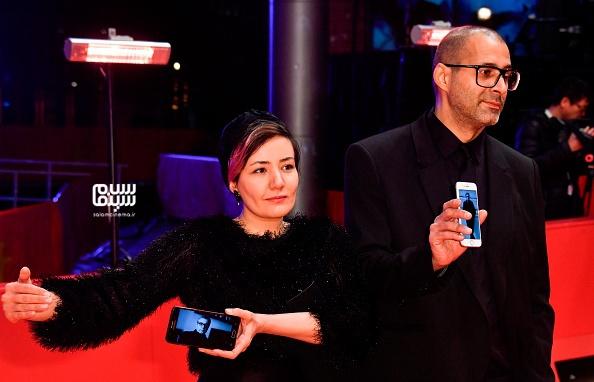 شقایق شوریان - فرش قرمز «شیطان وجود ندارد» - جشنواره برلین 2020- گزارش تصویری