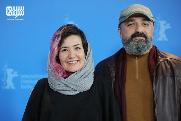 احسان میرحسینی - شقایق شوریان - فتوکال فیلم «شیطان وجود ندارد» - جشنواره فیلم برلین 2020