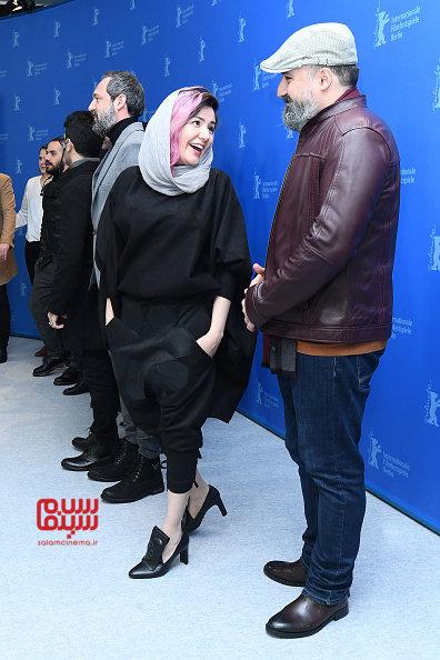 احسان میرحسینی - شقایق شوریان - فتوکال فیلم «شیطان وجود ندارد» در برلین 2020