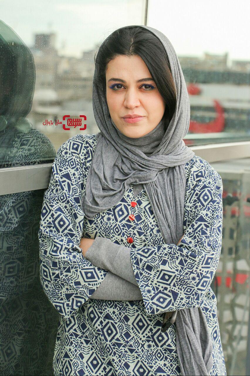 شیدا خلیق در روز ششم سی و هفتمین جشنواره جهانی فیلم فجر