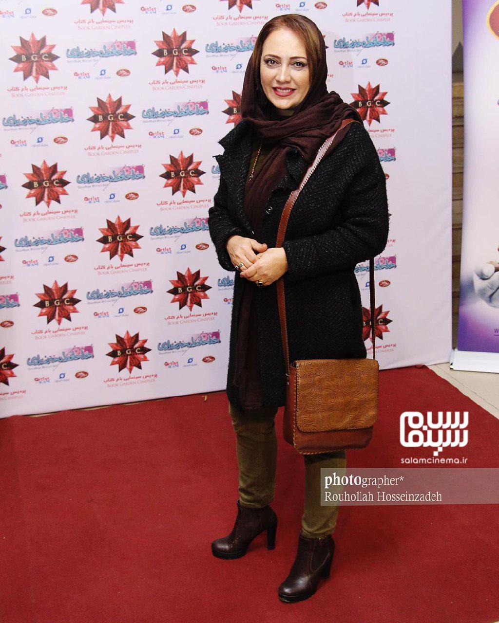 شیرین بینا - اکران خصوصی فیلم «خداحافظ دختر شیرازی»-گزارش تصویری