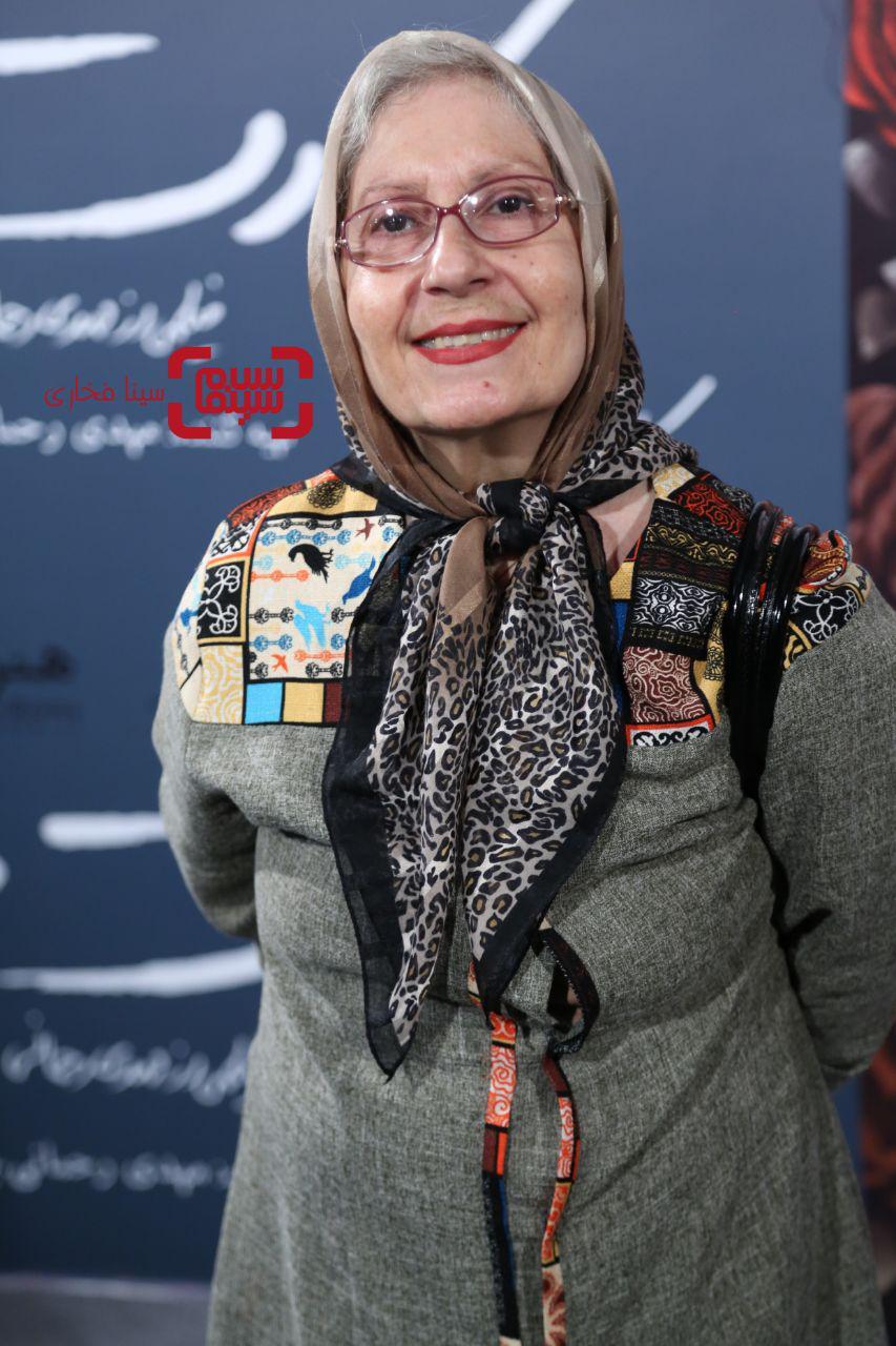 عکسشیرین یزدان بخشدراکران خصوصی فیلم «کارت پرواز»