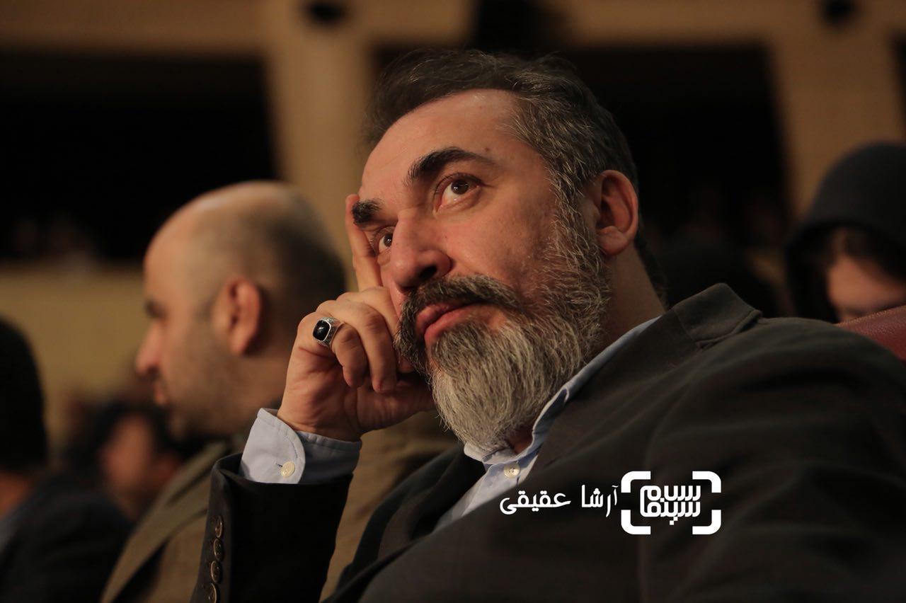 سیامک انصاری در اختتامیه سی و ششمین جشنواره فیلم فجر
