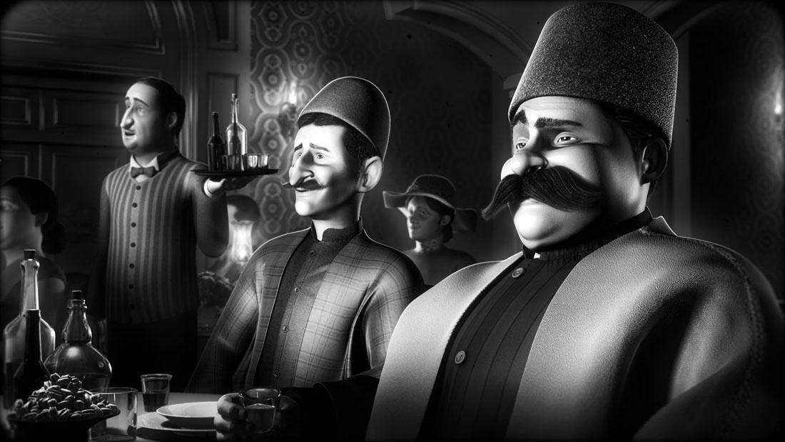 فردین خلعتبری آهنگساز انیمیشن «سیم ششم» بهرام عظیمی شد